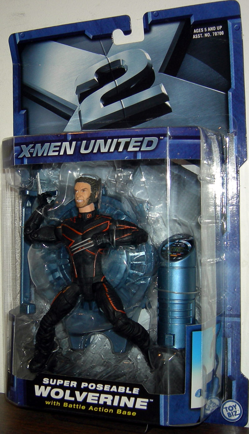 Super Poseable Wolverine (X-Men United)