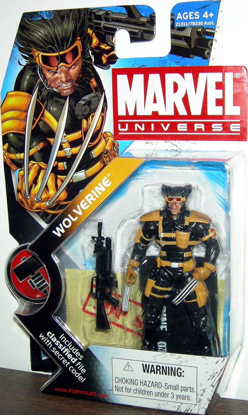 Team X Wolverine (Marvel Universe, series 2, 027)
