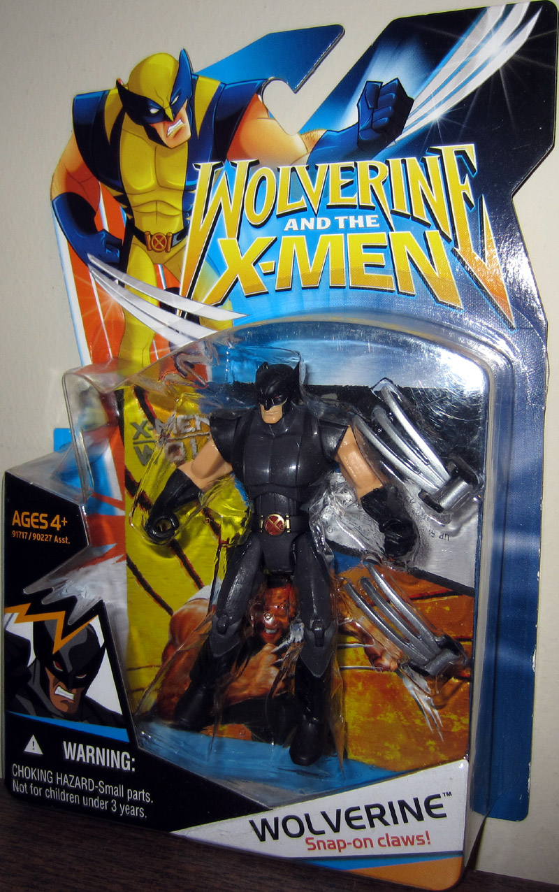 Wolverine (Wolverine And The X-Men, black suit)