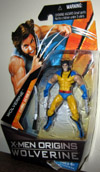 Wolverine (X-Men Origins, comic series, yellow costume, unmasked)