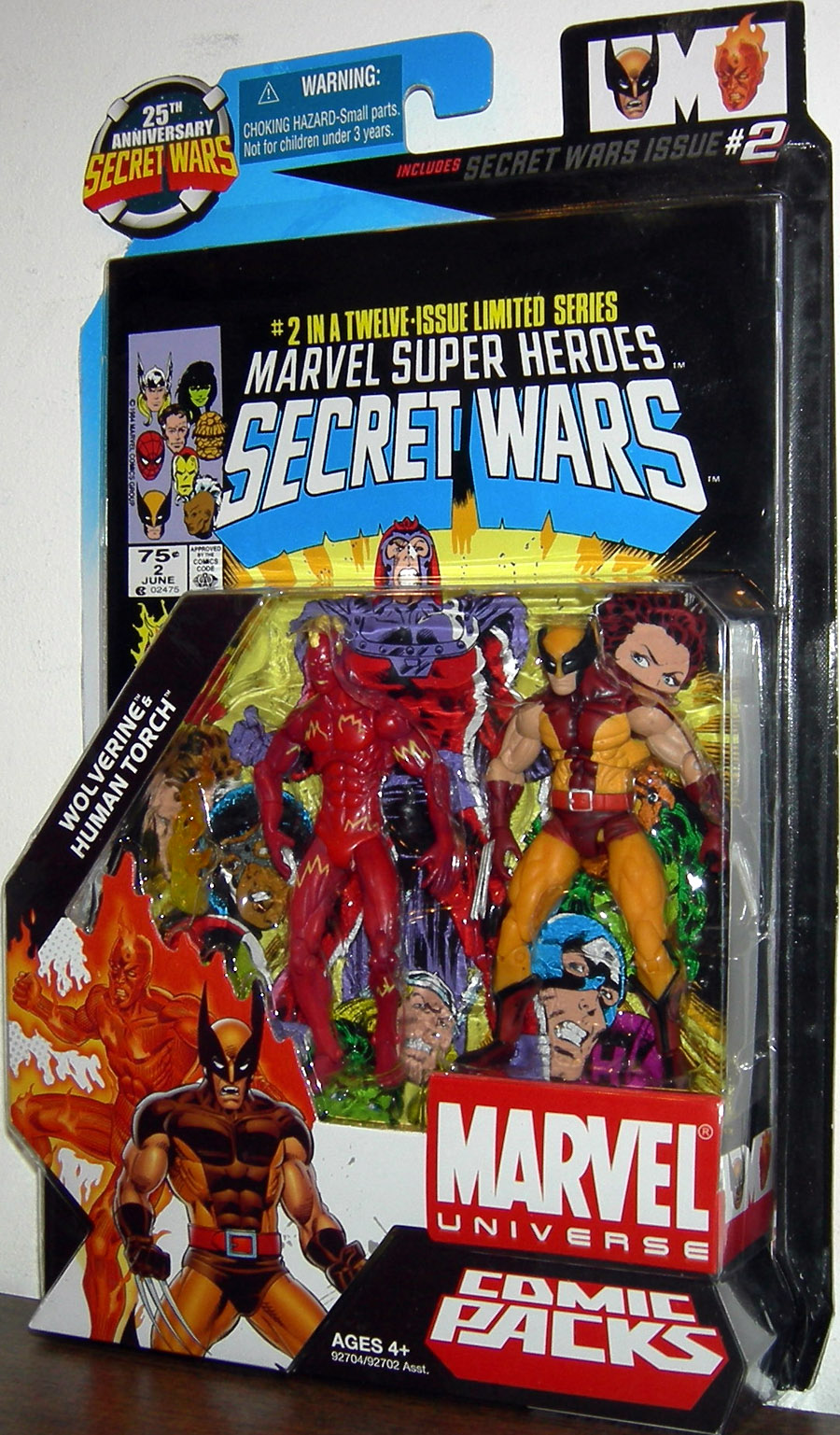 Wolverine & Human Torch (Marvel Universe Comic Packs #2)