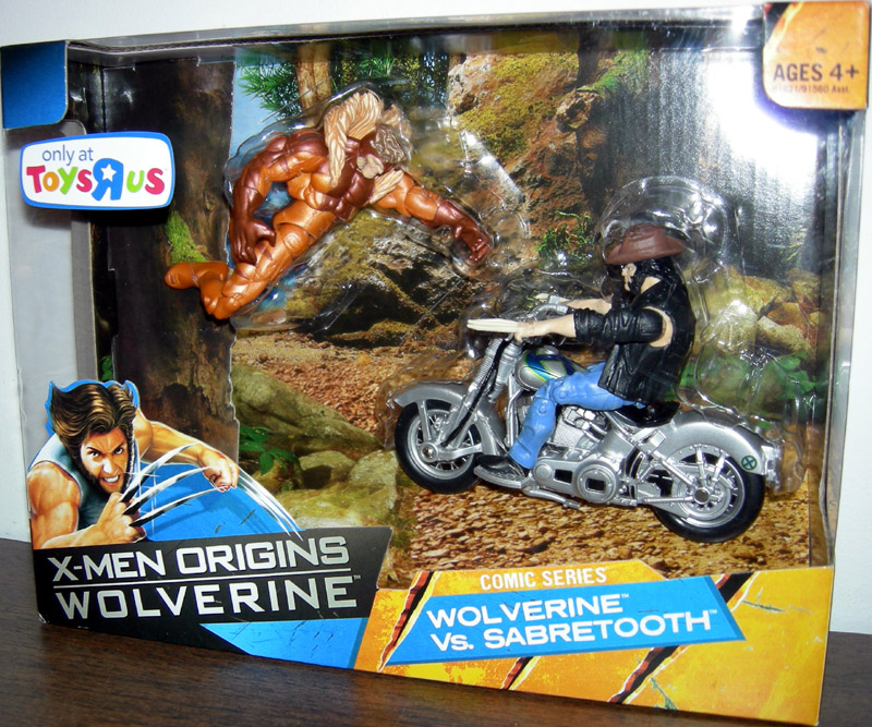 Wolverine vs. Sabretooth (X-Men Origins, Toys R Us Exclusive)