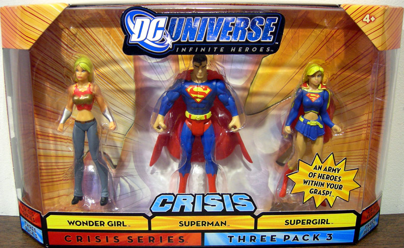 Wonder Girl, Superman & Supergirl (Crisis Series Three Pack 3)