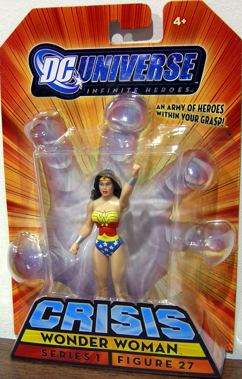Wonder Woman (DC Universe Infinite Heroes, Crisis Series 1, Figure 27)