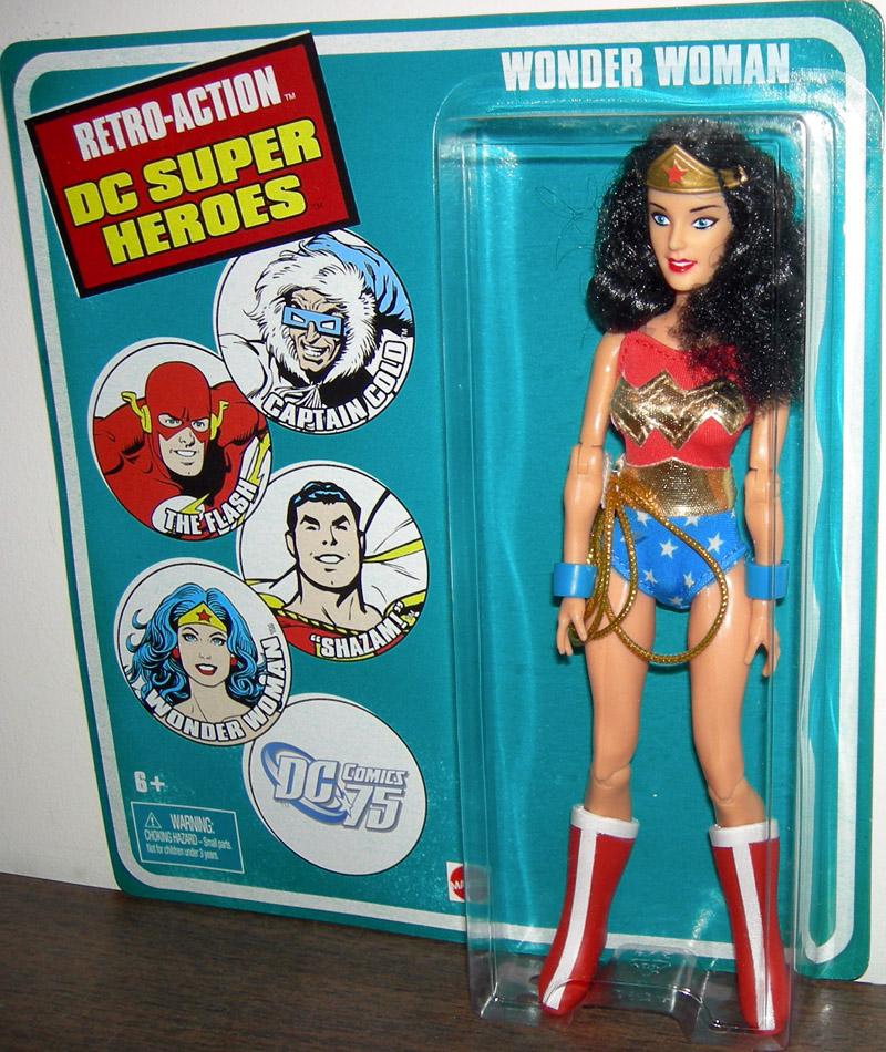 Wonder Woman Figure Retro-Action Dc Super Heroes-5288