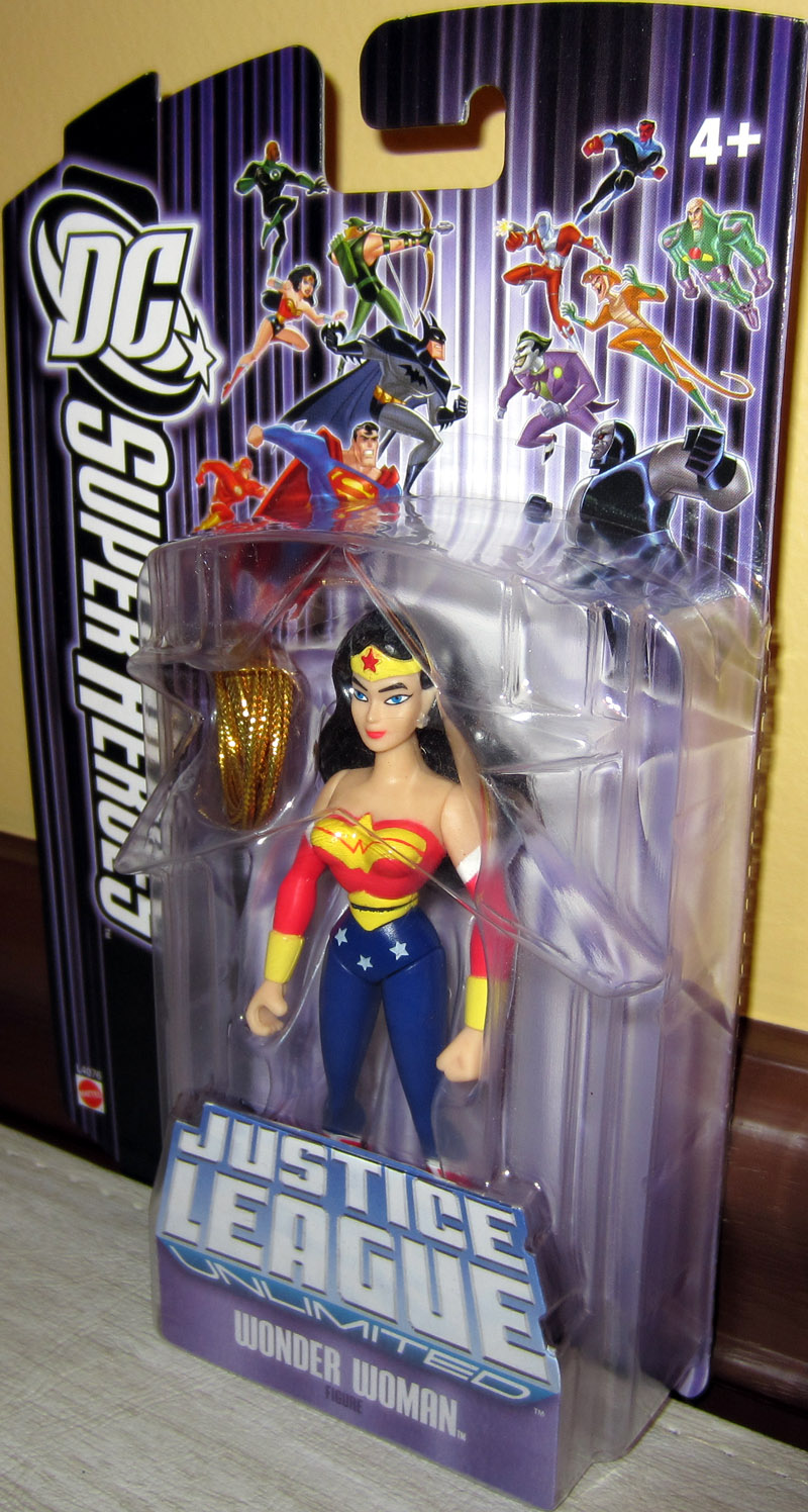 Wonder Woman (DC SuperHeroes Justice League Unlimited, purple card)