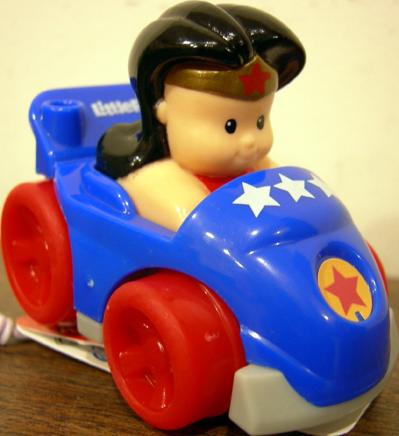 Little People DC Super Friends Wheelies Wonder Woman, Target Exclusive