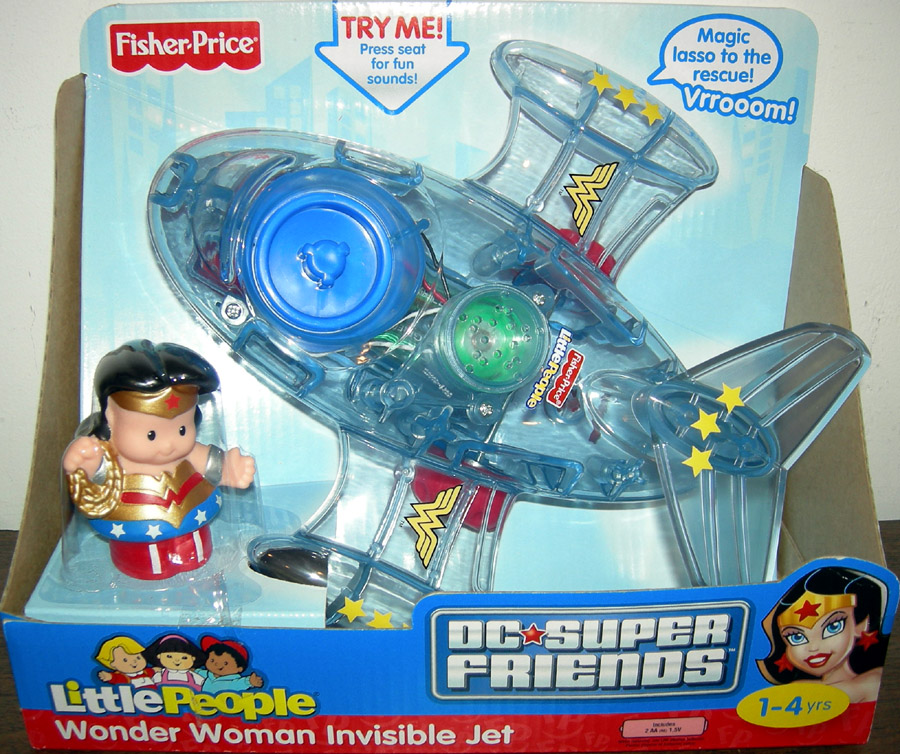 Wonder Woman Invisible Jet (DC Super Friends, Little People)