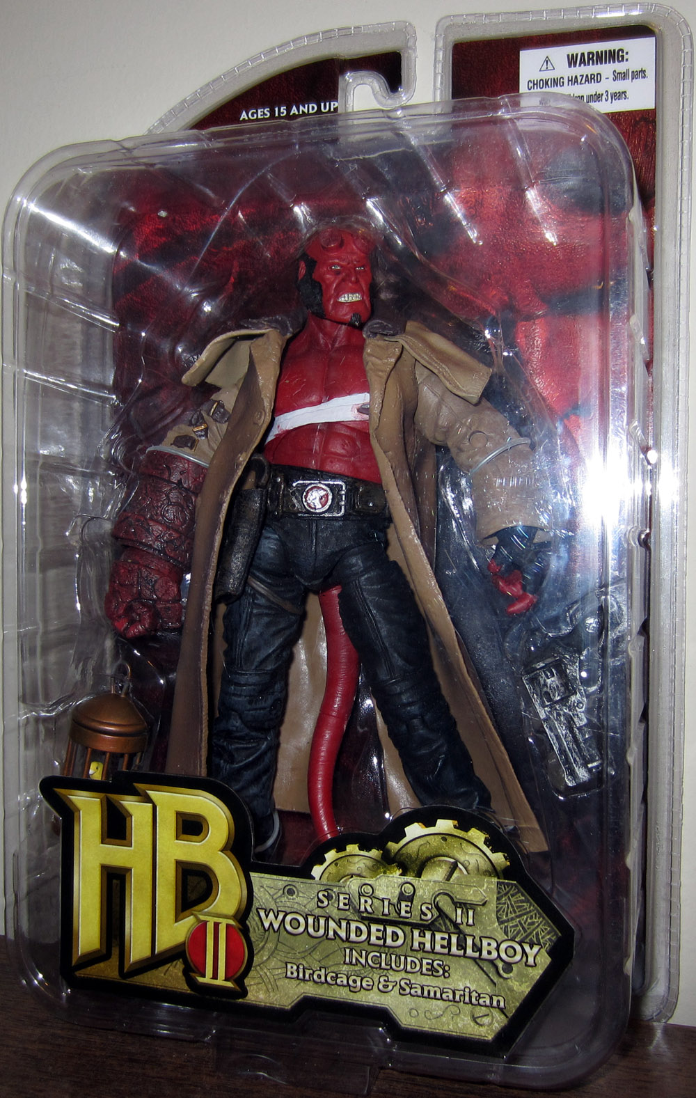 Wounded Hellboy (series II)
