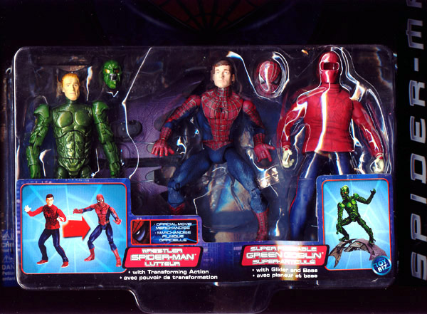 Wrestler Spider-Man vs. Super Poseable Green Goblin (movie)