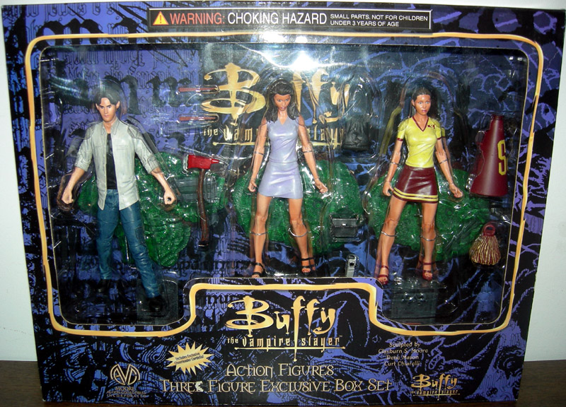 Xander, Cordelia & Exclusive Cheerleader Cordelia 3-Pack
