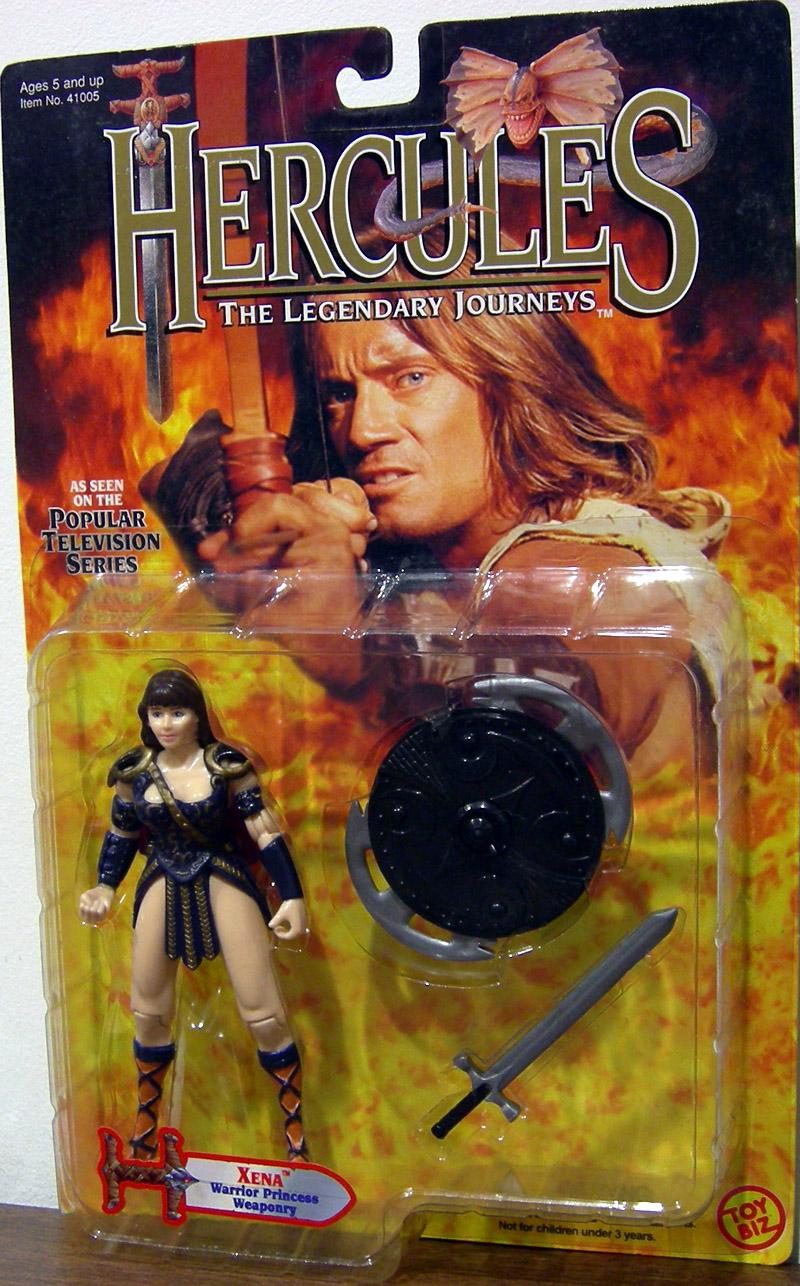 Xena Figure Warrior Princess Weaponry Toy Biz