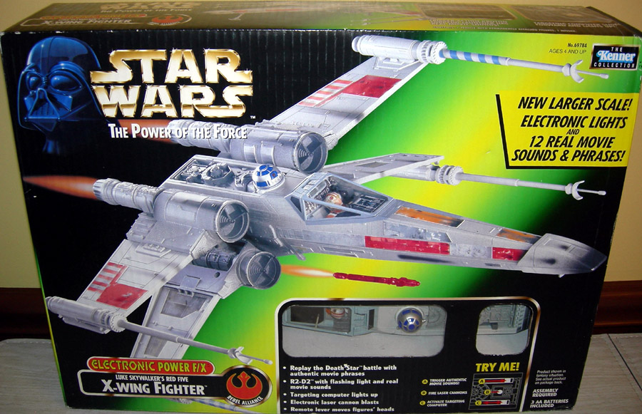 Luke Skywalker's Red Five X-wing Fighter (Power F/X)
