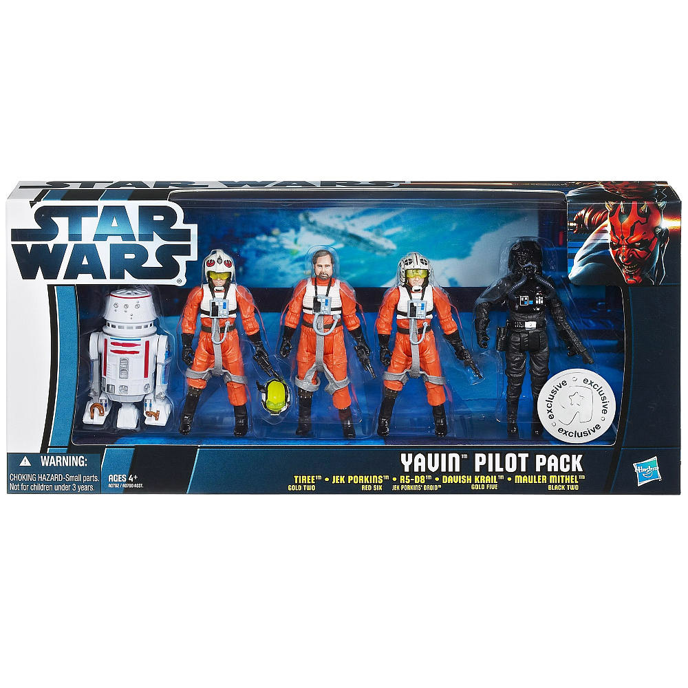 Yavin Pilot Pack (Toys R Us Exclusive)
