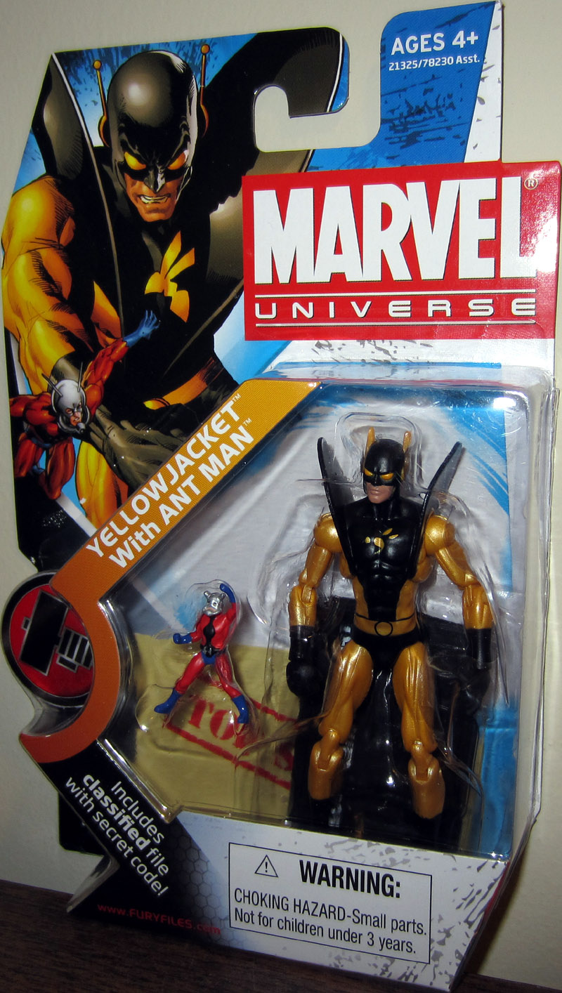 Yellowjacket with Ant Man (Marvel Universe, series 2, 032)