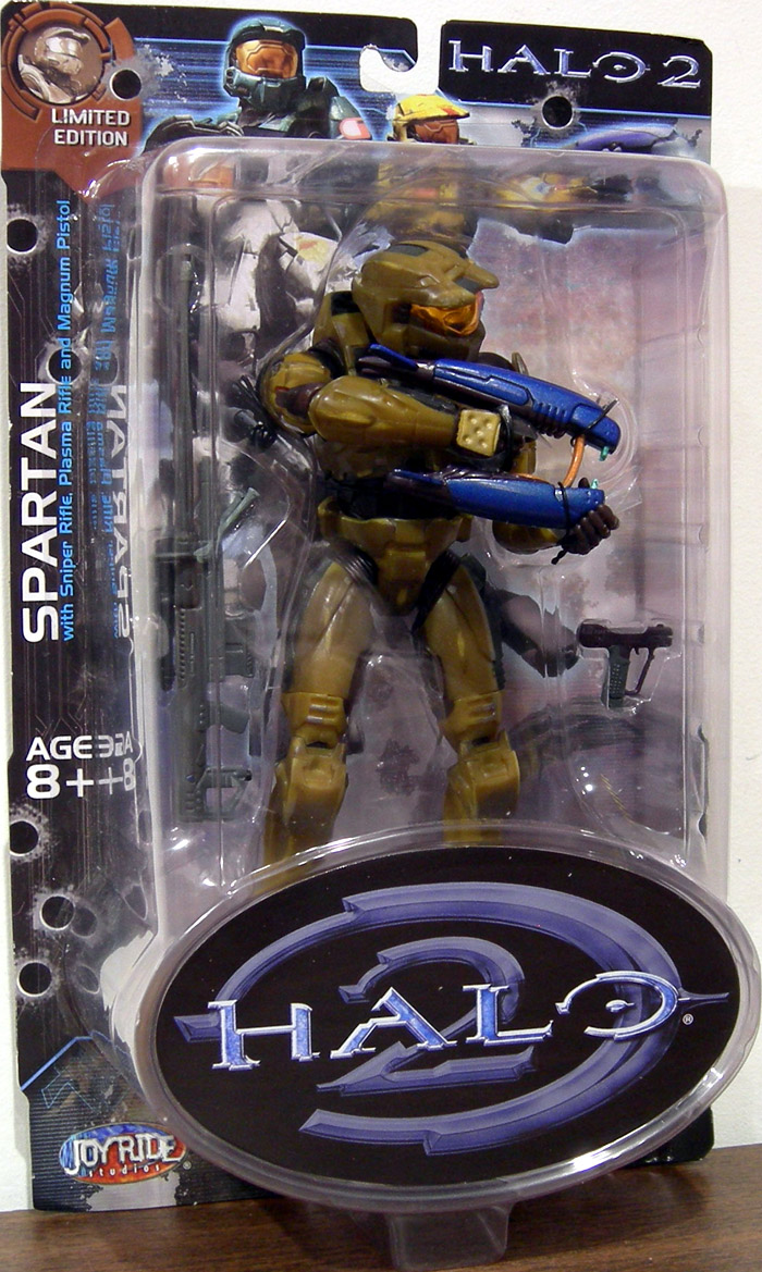 Gold Spartan (Halo 2, Limited Edition, Battle Damaged)