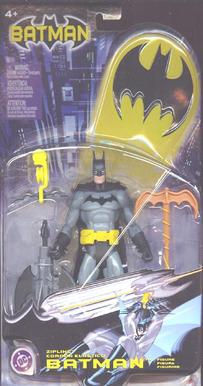 Zipline Batman action figure