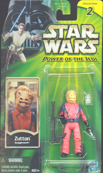 Zutton Snaggletooth Star Wars Power Jedi Collection 2 action figure